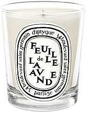 Parfüm, Parfüméria, kozmetikum Illatosított gyertya - Diptyque Feuille de Lavande Candle