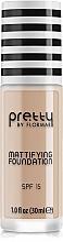 Parfüm, Parfüméria, kozmetikum Mattító alapozó krém - Flormar Pretty Mattifying Foundation