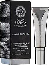 """Parfüm, Parfüméria, kozmetikum Intenzív modellező szérum """"Mély ráncok ellen"""" - Natura Siberica Caviar Platinum"""