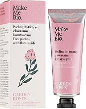 Parfüm, Parfüméria, kozmetikum Arcpeeling virág kivonatokkal - Make Me Bio Garden Roses Face Peeling With Floral Acids
