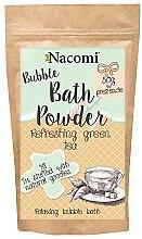 "Parfüm, Parfüméria, kozmetikum Fürdőpúder ""Frissítő zöld tea"" - Nacomi Refreshing Green Tea Bath Powder"