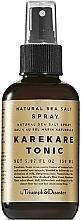 Parfüm, Parfüméria, kozmetikum Tonik-spray hajra tengeri sóval - Triumph & Disaster Karekare Tonic Salt Spray