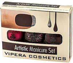 Parfüm, Parfüméria, kozmetikum Körömlakk szett - Vipera Set Artistic Manicure (n/pol/5,5mlx3) (01-Metaphor)