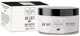 Parfüm, Parfüméria, kozmetikum Testápoló olaj - Scottish Fine Soaps Au Lait Body Butter