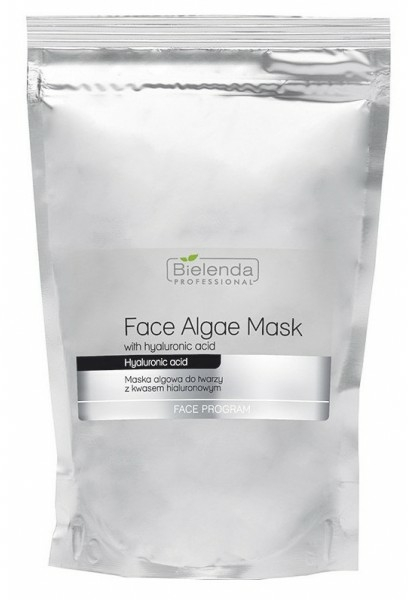 Hialuronsavas alginát arcmaszk - Bielenda Professional Face Algae Mask with Hyaluronic Acid (tartalék blokk)