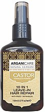 Parfüm, Parfüméria, kozmetikum Hajszérum 10 az 1-ben - Argaincare Castor Oil 10-in-1 Hair Repair