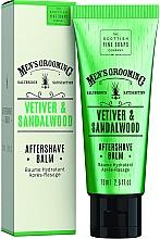"""Parfüm, Parfüméria, kozmetikum Borotválkozás utáni balzsam """"Vetiver és szantálfa"""" - Scottish Fine Soaps Vetiver Sandalwood Aftershave Balm"""