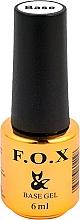 Parfüm, Parfüméria, kozmetikum UV géllakk bázis - F.O.X Base Strong Gel