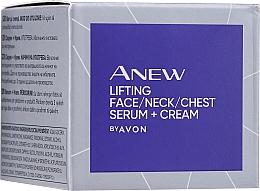 Parfüm, Parfüméria, kozmetikum Arc-, dekoltázs-, nyakszérum - Avon Anew Clinical Lift & Firm Pressed Serum