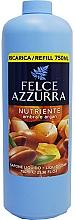 Parfüm, Parfüméria, kozmetikum Folyékony szappan - Felce Azzurra Nutriente Amber & Argan (csere blokk)
