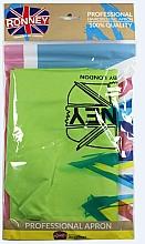 Parfüm, Parfüméria, kozmetikum Fodrászkötény, világoszöld - Ronney Professional Hairdressing Apron Light Green
