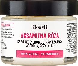 """Parfüm, Parfüméria, kozmetikum Regeneráló arckrém """"Bársony rózsa"""" - Iossi Regenerating Cream"""