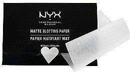 Parfüm, Parfüméria, kozmetikum Mattító kendő arcra - NYX Professional Makeup Blotting Paper