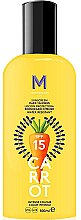 Parfüm, Parfüméria, kozmetikum Napvédő krém sötét barnuláshoz - Mediterraneo Sun Carrot Sunscreen Dark Tanning SPF15