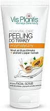 Parfüm, Parfüméria, kozmetikum Enzimes peeling arcra - Vis Plantis Helix Vital Care Enzyme Facial Scrub