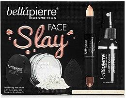 Parfüm, Parfüméria, kozmetikum Szett - Bellapierre Face Slay Kit Fair/Medium (stick/8.6g+powder/6.5g+spray/70ml+sponge/1pcs)