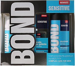 Parfüm, Parfüméria, kozmetikum Készlet - Bond Expert Sensitve (deo/150ml + lotion/100ml + foam/50ml)
