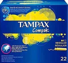 Parfüm, Parfüméria, kozmetikum Tampon applikátorral, 22 db - Tampax Compak Regular
