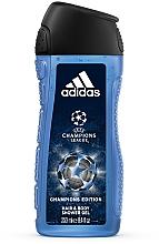 Parfüm, Parfüméria, kozmetikum Adidas UEFA Champions League Champions Edition - Tusfürdő