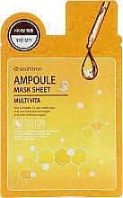 Parfüm, Parfüméria, kozmetikum Szövetmaszk, vitaminos - Seantree Mask Sheet Multi Vita Ampoule