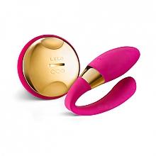 Parfüm, Parfüméria, kozmetikum Masszírozó vibrátor pároknak, rózsaszín - Lelo Tiani 24k Hot Cerise