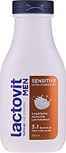Parfüm, Parfüméria, kozmetikum Férfi tusfürdő 3 az 1-ben - Lactovit Men Sensitive 3v1 Shower Gel