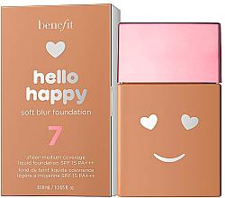 Parfüm, Parfüméria, kozmetikum Alapozó - Benefit Hello Happy Soft Blur Foundation