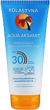 Parfüm, Parfüméria, kozmetikum Hidratáló napozó emulzió - Kolastyna Aqua Aksamit Suncare Emulsion SPF 30