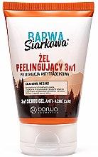 Parfüm, Parfüméria, kozmetikum Antibakteriális arcgél-radír - Barwa Anti-Acne Sulfuric Scrub Gel 3in1