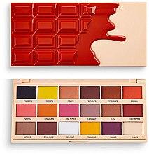 Parfüm, Parfüméria, kozmetikum Szemhéjfesték paletta - I Heart Revolution Eyeshadow Chocolate Palette Cinnamon