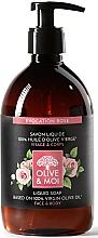 """Parfüm, Parfüméria, kozmetikum Folyékony szappan olívaolajjal """"Rózsa"""" - Saryane Olive & Moi Liquid Soap"""