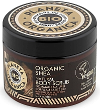 Parfüm, Parfüméria, kozmetikum Tápláló testradír - Planeta Organica Organic Shea Natural Body Scrub