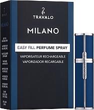 Parfüm, Parfüméria, kozmetikum Szórófejes parfüm utántöltő palack - Travalo Milano Blue