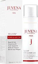 Parfüm, Parfüméria, kozmetikum Tápláló olaj hajra és szakállra - Juvena Rejuven Men Beard & Hair Grooming Oil