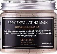 Parfüm, Parfüméria, kozmetikum Ghassoul agyag testmaszk - Namur Body Exfoliating Ghassoul Clay