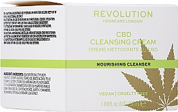 Parfüm, Parfüméria, kozmetikum Tisztító arckrém - Revolution Skincare CBD Cleansing Cream
