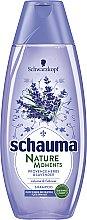 """Parfüm, Parfüméria, kozmetikum Sampon """"Provence-i gyógynövények és levendula"""" - Schwarzkopf Schauma Nature Moments Provence Herbs&Lavender Shampoo"""