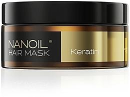 Parfüm, Parfüméria, kozmetikum Hajmaszk keratinnal - Nanoil Keratin Hair Mask