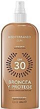 Parfüm, Parfüméria, kozmetikum Lotion napozáshoz - Mediterraneo Sun Suntan Lotion SPF30