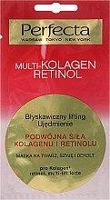 Parfüm, Parfüméria, kozmetikum Nyak-, dekoltázs- és arcmaszk - Perfecta Multi-Kolagen Retinol