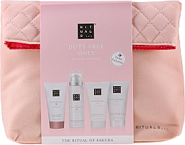 Parfüm, Parfüméria, kozmetikum Szett - The Ritual of Sakura Renewing Treat (b/cr/70ml + sh/g/50ml + shampoo/70ml + b/scrub/70ml + bag)