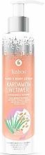 """Parfüm, Parfüméria, kozmetikum Kéz és test balzsam """"Kardamom és vetiver"""" - Kabos Cardamon & Vetiwer Hand & Body Lotion"""