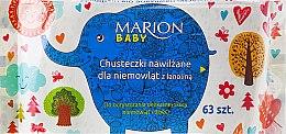 Parfüm, Parfüméria, kozmetikum Baba törlőkendő, 63db - Marion