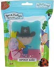 """Parfüm, Parfüméria, kozmetikum Gyerek fürdőszivacs """"Ben és Holly"""", Ben, serif, világoskék - Suavipiel Ben & Holly Bath Sponge"""
