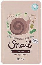 Parfüm, Parfüméria, kozmetikum Szövetmaszk - Skin79 Fresh Garden Mask Snail