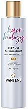 Parfüm, Parfüméria, kozmetikum Tisztító sampon - Pantene Pro-V Hair Biology Cleanse & Reconstruct Shampoo