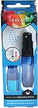 Parfüm, Parfüméria, kozmetikum Szórófejes parfüm utántöltő palack - Travalo Ice Blue Perfume Atomiser