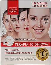 "Parfüm, Parfüméria, kozmetikum Arcmaszk ""10 napos terápia"" - Czyste Piekno Anti-age Therapy 10 Days"