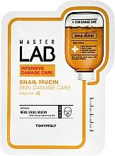 Parfüm, Parfüméria, kozmetikum Szövetmaszk csiga mucinnal - Tony Moly Master Lab Snail Mucin Mask