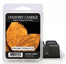 Parfüm, Parfüméria, kozmetikum Aroma viasz - Country Candle Golden Tobacco Wax Melts